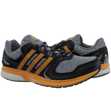 adidas questar boost s running shoes grey black fitness new ebay