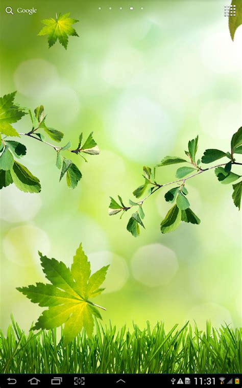 leaf green apk leaves live wallpaper android apps on play