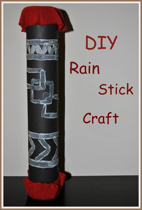 How To Make A Rainstick With A Paper Towel Roll - how to make a stick crafts 4 boys