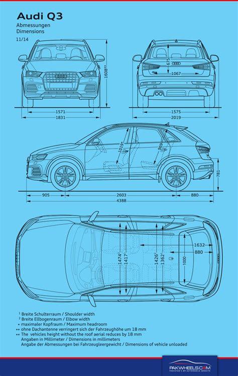 Abmessungen Audi Q3 by Bmw X1 Vs Audi Q3