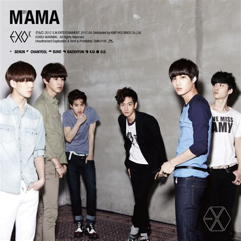 download mp3 exo first love korean download exo k mama the 1st mini album