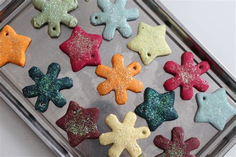 how to make ornaments with flour salt dough ornament recipe