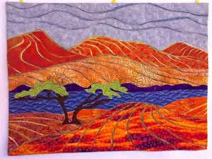 Landscape Quilt Kits You To See Linear Landscape On Craftsy