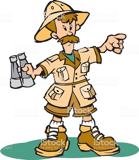 safari guide clipart safari guide stock vector 452381587 istock