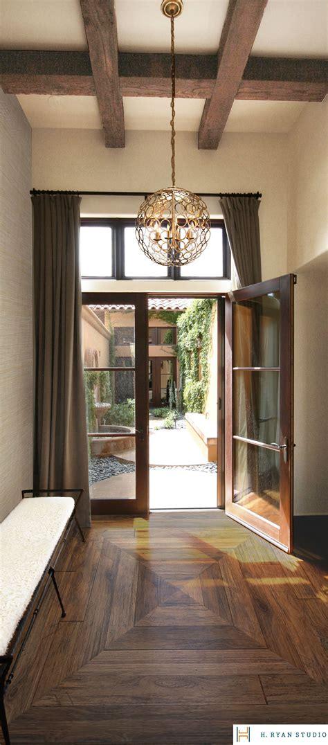 ryan studio urban master bedroom foyer  custom