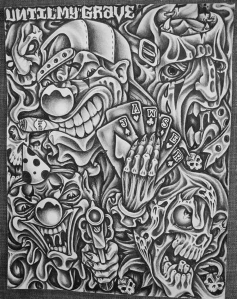 latino art tattoo designs incarcerated graphite pencil on paper by jawser t