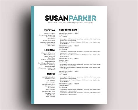 bold resume template bold modern resume template resume templates on creative
