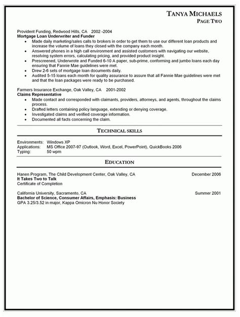 best resume for returning to workforce 28 images objective sle for returning to work resume
