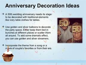 50th Anniversary Table Decorations To Make » Home Design 2017