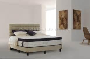 Simmons Bed Satu Set Colony 180x200 bed protector murah furniture jakarta terlengkap