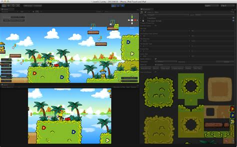 unity tutorial tile map unity vs oxygine 2d c game framework detailed comparison