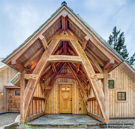 A Frame Homes collin beggs design build timber framing