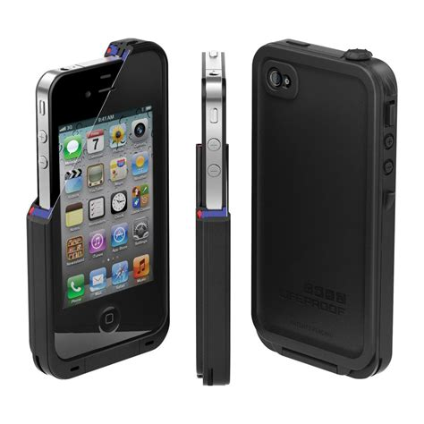 Lifeproof Iphone 4 4s new lifeproof iphone 4 4s black water snow dirt