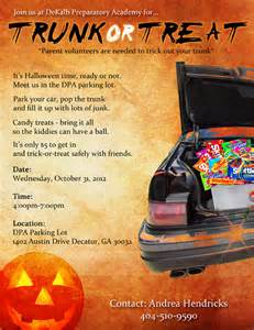 trunk or treat flyer template trunk or treat flyer template free image mag