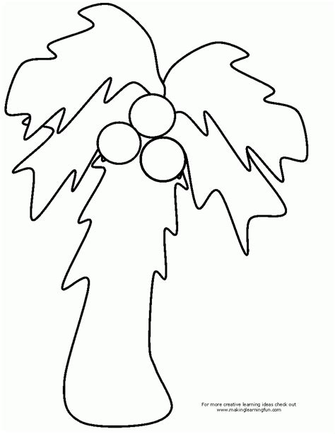 chicka chicka boom boom palm tree template free coloring pages chicka chicka coloring home