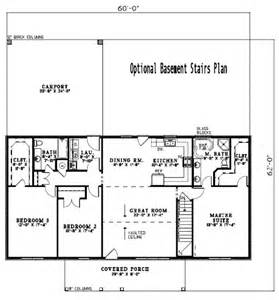 1800 Sq Ft Ranch House Plans by Ranch Style House Plan 3 Beds 2 Baths 1800 Sq Ft Plan