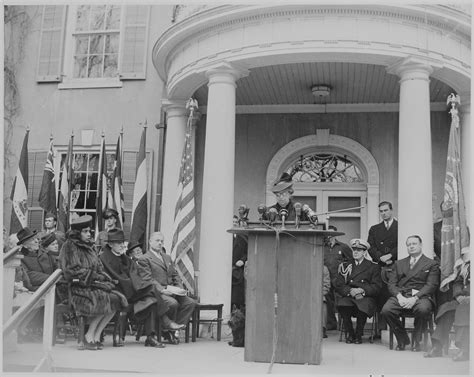 file photograph of eleanor roosevelt speaking at the