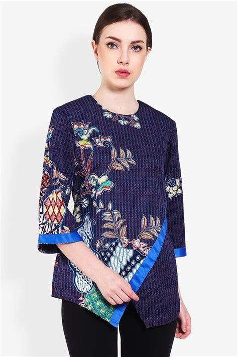Model Baju Batik Atasan 45 model baju batik atasan wanita terbaru 2018