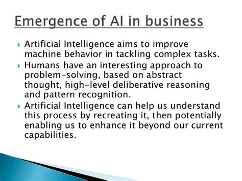 abstract reasoning pattern recognition artificial intelligence in business