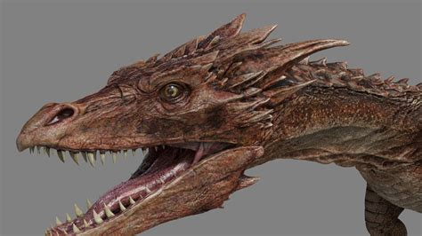 3d hd model gothic dragon 3d model max cgtrader