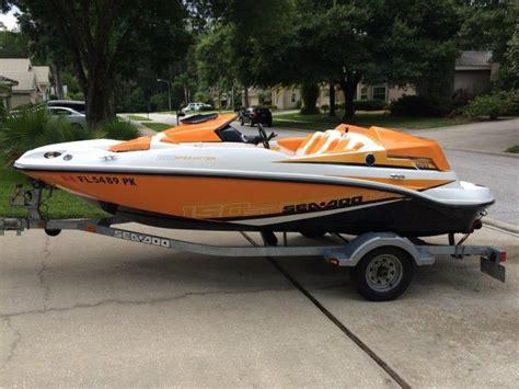seadoo boat r sea doo 150 speedster boats for sale