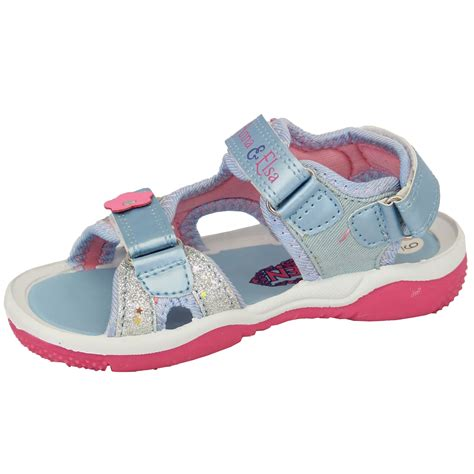 Frozen Sandal Wedges Sandal Anak frozen sandals shoes elsa velcro floral disney new ebay