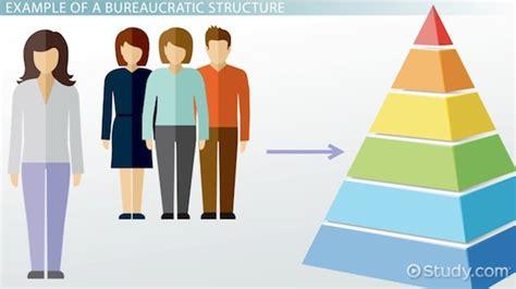 exle of bureaucracy bureaucratic structure in an organization definition