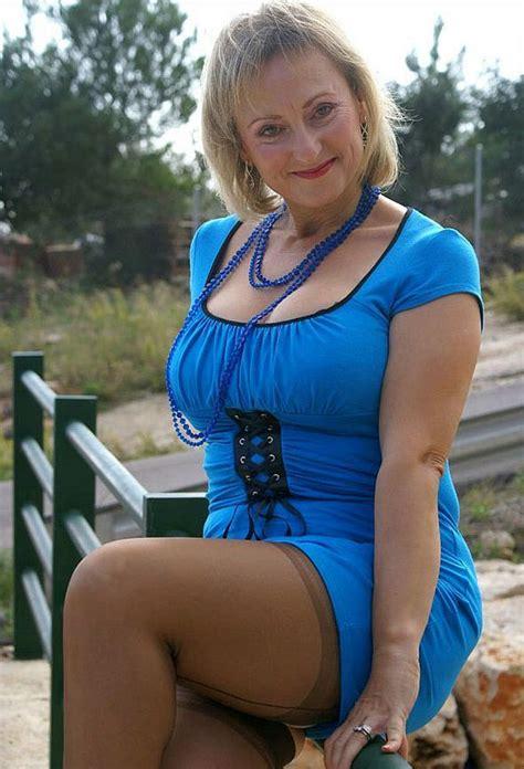 pinterest hot older women mature woman posing in blue dress photos of sexy older