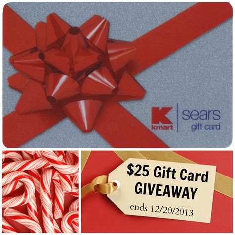 Can A Sears Gift Card Be Used At Kmart - 25 sears or kmart gift card giveaway livin the mommy life