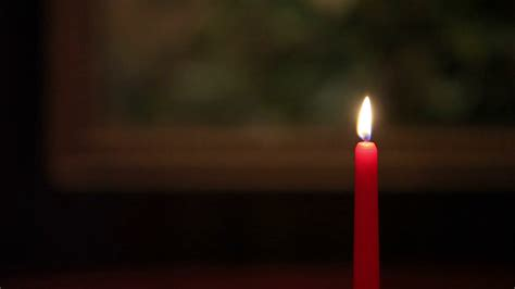 in candle light candle light in room stock footage