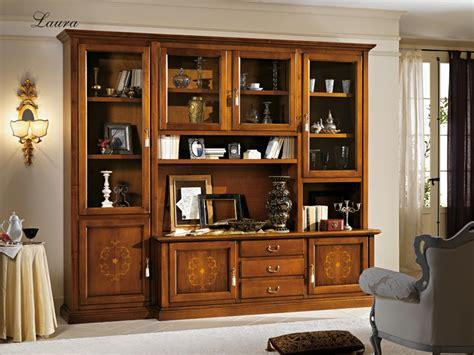 parete attrezzata soggiorno classica pareti attrezzate soggiorno classiche pareti attrezzate