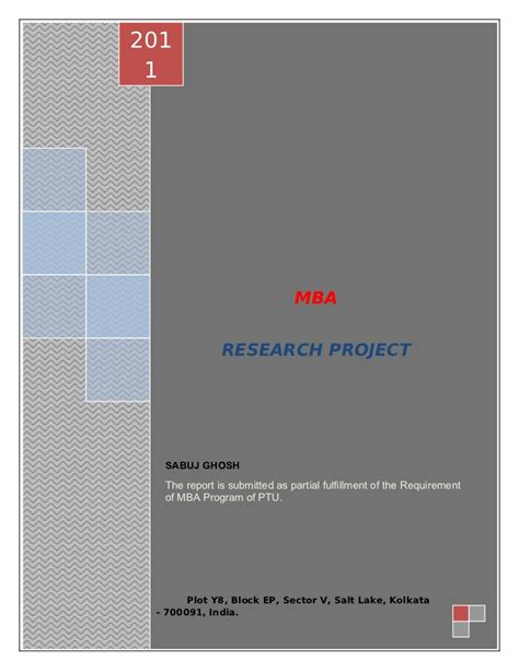 Mba Project Report On Microfinance In India Free by 48947731 A Project Report On Microfinance In India