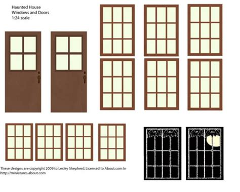 dolls house windows and doors 8 best images of printable dollhouse windows printable dollhouse windows and doors