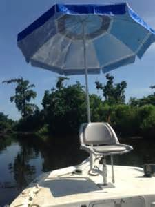 boat seat with umbrella the ultra boat seat umbrella rod holder boat seat
