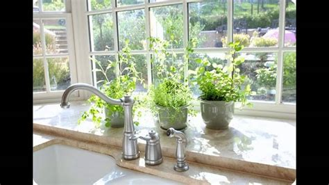 Backyard Window by Kitchen Garden Window Ideas
