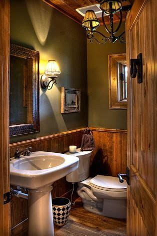 rustic bathroom beautiful light fixtures make mine rustic pinterest beautiful cabin and bath