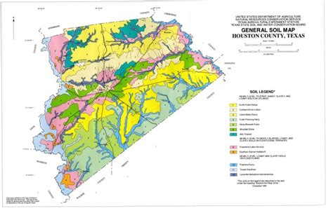 texas soil map general soil map houston county texas sequence 1 the portal to texas history