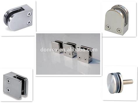 banister fittings handrail balustrade fittings metal clip for tube glass
