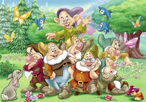 banche immagini gratis 2 puzzles blanche neige and the 7 dwarfs ravensburger