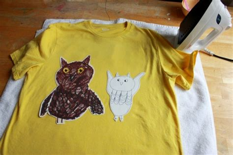 Child S Drawing On At Shirt