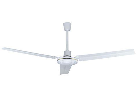 industrial ceiling fan escape 68 in brushed nickel indoor