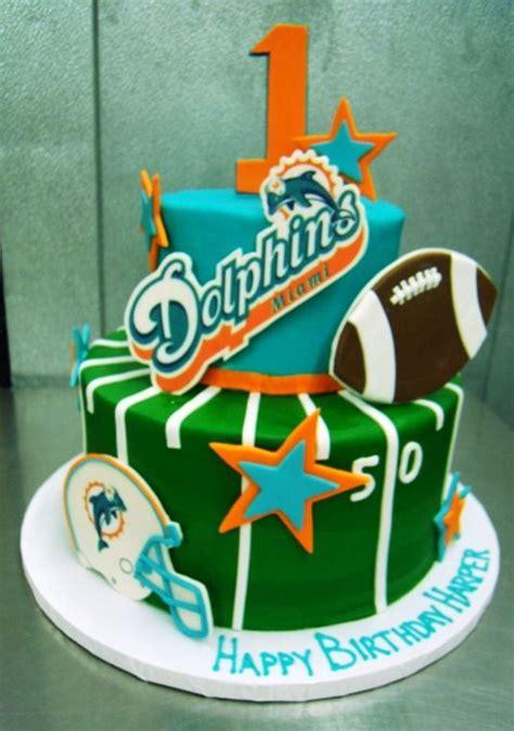 miami dolphins birthday cake birthday cakes