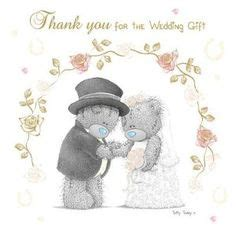 tatty teddy wedding evening invitations on your wedding day me to you card a tatty and