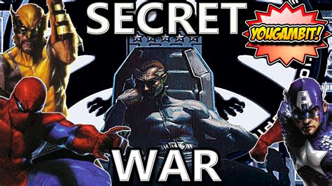 libro secret wars secret wars mega videocomic la guerra secreta marvel secret war historia completa youtube