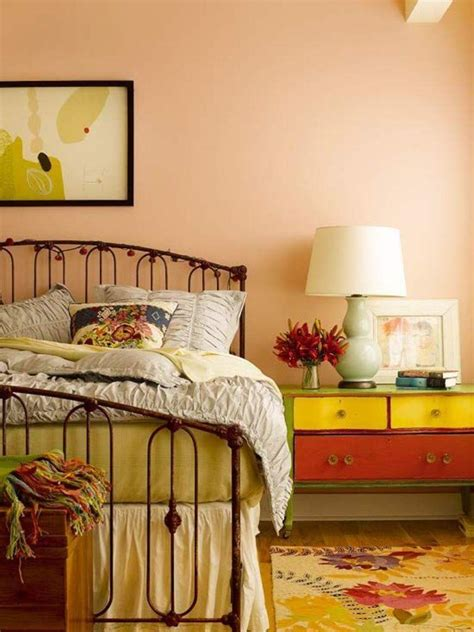 Light Colors For Bedroom Walls 20 Charming Coral Bedroom Ideas To Inspire You Rilane