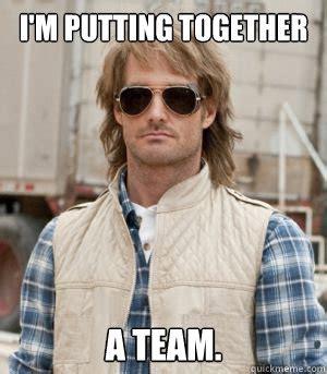 Macgruber Meme - i m putting together a team macgruber quickmeme