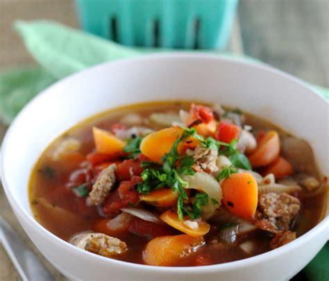 early cuisine early autumn minestrone cuisine recipes