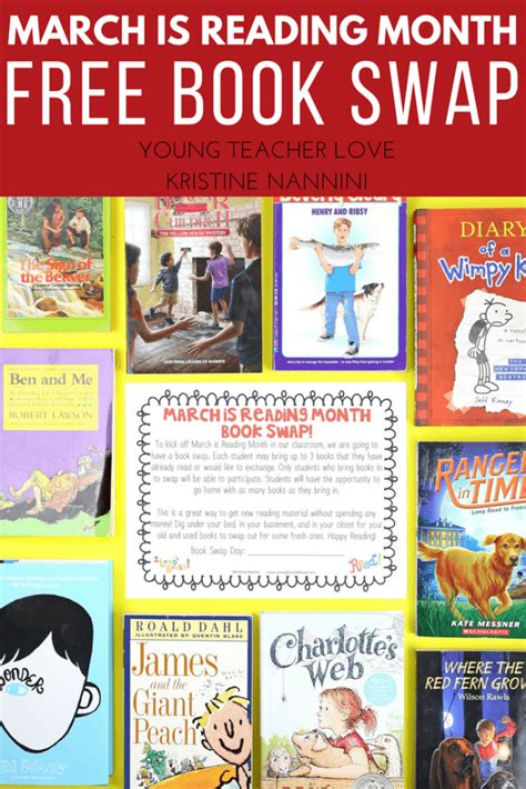themes for march is reading month march is reading month ideas and freebies young teacher love