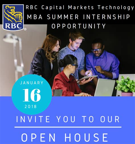 Mba Information Session Dress Code by Apply To Attend Rbc Capital Markets Technology