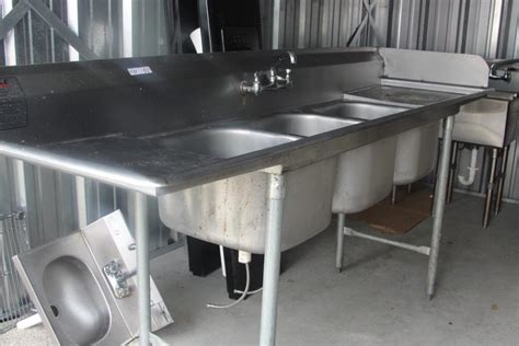 3 compartment sink price stainless steel 3 compartment sink for sale classifieds